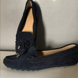 Michael Kors moccasins flats shoes suede 8.5 NEW